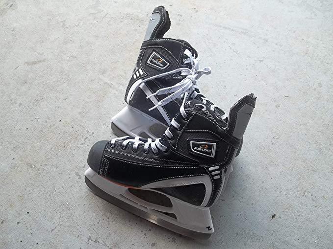 powertex Ice Hockey Skates - Size 5.0 (Teen/adult) - Extremely Good Condition -