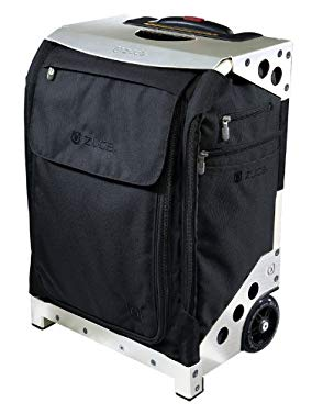 ZUCA Flyer Bag - Black/Silver