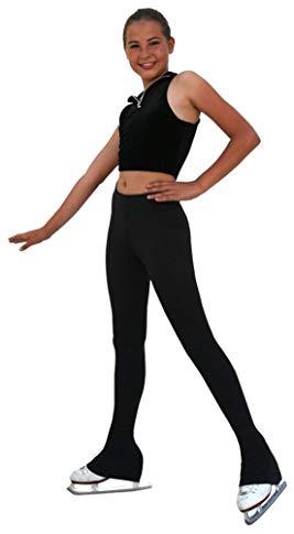 ChloeNoel P23-2 Contrast Waist Figure Skating Pants