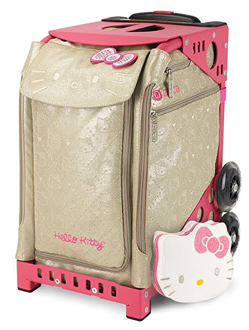 ZÜCA Sport Hello Kitty Good As Gold Rolling Bag