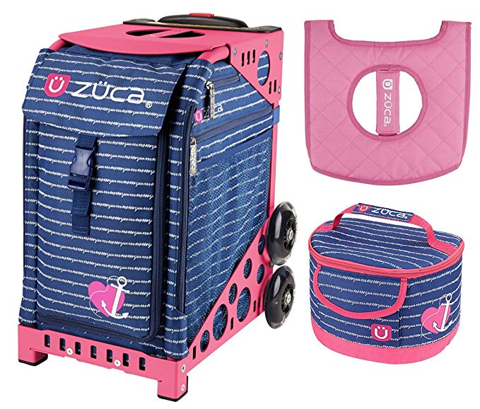 ZUCA Sport Bag - Anchor My Heart with Gift Lunchbox and Seat Cover